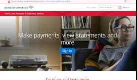 Sign in to Manage your Bank of America Mortgage and Home ...