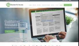 Standard for Success: Teacher Evaluation Software