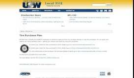 Tire Purchase Plan | Local 351L - USW 351