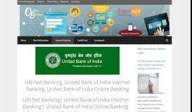 United Bank of India Internet Banking | UBI Online Banking ...