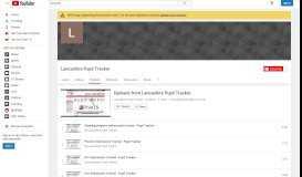 Uploads from Lancashire Pupil Tracker - YouTube
