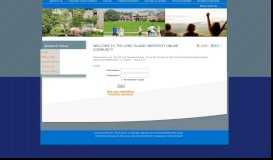 User Login - Long Island University