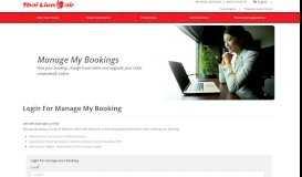 User Portal - Thai Lion Air