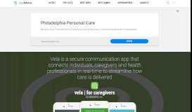 vela   for caregivers by Seniorlink, Inc. - AppAdvice