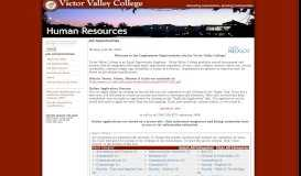 Victor Valley College - Government Jobs