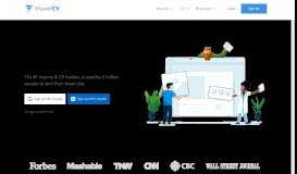 VisualCV: Online CV Builder & Professional Resume Maker