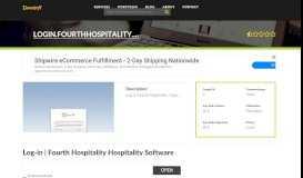 Welcome to Login.fourthhospitality.com - Log-in   Fourth ...