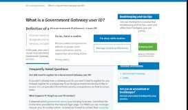 What is a Government Gateway user ID? - FreeAgent