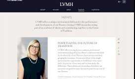 Work with LVMH - Talent, recruitment, career at LVMH