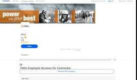 Working as a Contractor at PSEG: Employee Reviews   Indeed ...