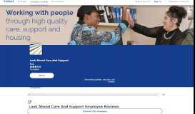 Working at Look Ahead Care And Support: 62 Reviews ...