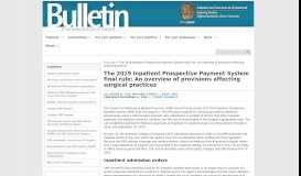 18DECBULL IPPS - web graphic   The Bulletin