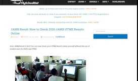 2019 JAMB Result is Out : Check Your UTME Results NOW! - MSG