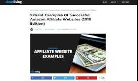 5 Great Examples of Successful Amazon Affiliate Websites (2018 ...