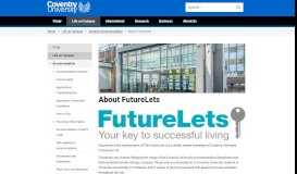About FutureLets - Coventry University