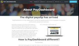 About PayDashboard - Online Payslip Portal | Pay Dashboard