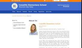 About Us - Canutillo Elementary School