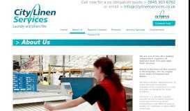 About Us - City Linen Services