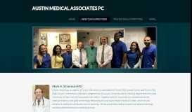 About Us & Directions - AUSTIN MEDICAL ASSOCIATES PC