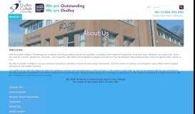 About Us - Dudley College