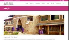 About Us – ECWA School of Basic Midwifery Egbe