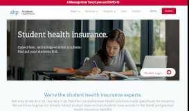 Academic HealthPlans – Student Health Insurance