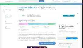 Access associate.belk.com. MY Belk (Associate Portal)