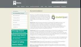 Accommodation Search - University of Northampton Studentpad