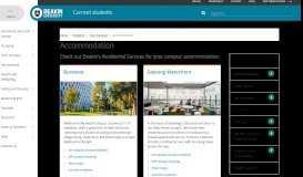 Accommodation   Students - Deakin University