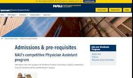 Admission information and pre-requisites | Department of Physician ...