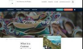 Admissions | ISA Custom Programs - International Studies Abroad