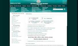 Admissions : Savitribai Phule Pune University offers undergraduate ...
