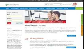 ADP CPE Link Center - CCH CPELink