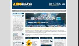 ADR Network: Jobs for HGV Drivers | UK based HGV Jobs