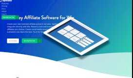 Affiliate software for Wix - Tapfiliate