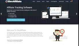 Affiliate Tracking Software - Affiliate Program Software - iDevAffiliate