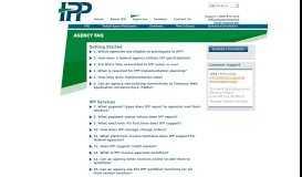 Agency FAQ- Invoice Processing Platform