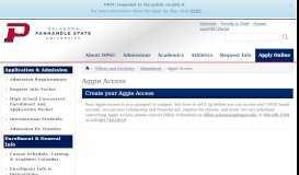 Aggie Access - OPSU