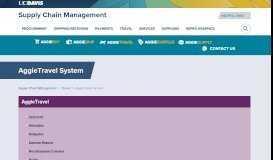 AggieTravel | Supply Chain Management