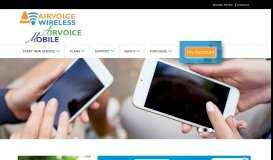 Airvoice Wireless Affordable Prepaid Cell Phones Carrier