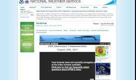 Andrew - National Weather Service