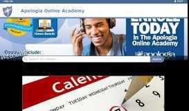 Apologia Online Academy Classes