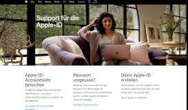 Apple-ID – Offizieller Apple Support