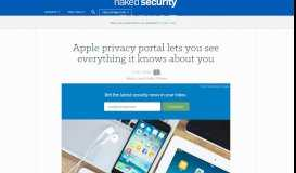 Apple privacy portal lets you see everything it knows about you ...