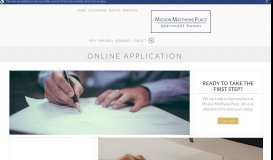 Application - Mission Matthews Place