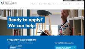 Application system status   University of West London