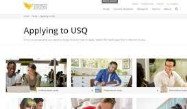 Applying to USQ - University of Southern Queensland