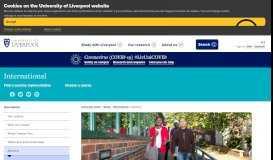 Applying - University of Liverpool