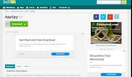 AppSpy 1.1 Free Download