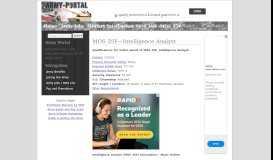 Army Jobs - MOS 35F Intelligence Analyst - Army-Portal.com